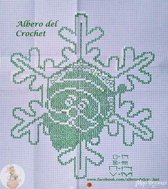 Crochet Doily Patterns, Crochet Doilies, Christmas And New Year, Christmas Crafts, Cross Stitch, Bullet Journal, Embroidery, Handmade, December