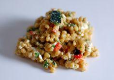 buckwheat basil salad Buckwheat, Fresh Basil, Plant Based Recipes, Risotto, Meal Planning, Good Food, Favorite Recipes, Lunch, Salad