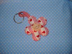 Keychain Happy Flower