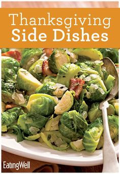 Healthy brussels sprouts, mashed potatoes, stuffing recipes and more!