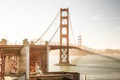 Golden Gate Bridge San Francisco City Art Urban by CascadePrints Lombard Street, Golden Gate Park, Golden Gate Bridge, Big Sur, San Jose, Bel Air, Rafting, San Diego, Bridge Builder