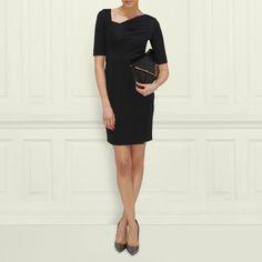 Catrina Asymmetrical Neckline Dress $725.00