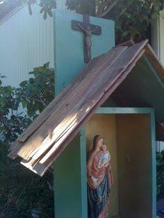 Video: How to Build a Backyard Catholic Shrine