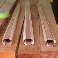 Birds Mouth Hollow Shaft Paddle Making