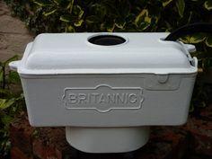 Restored Britanic White Victorian Antique Cast Iron High Level Toilet Cistern   eBay
