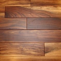 "Acacia Natural 3/4 x 3-1/2"" Smooth Tobacco Road Solid Hardwood Flooring"