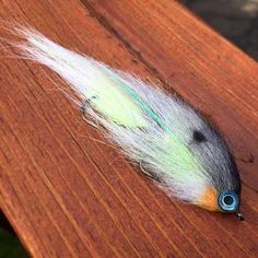 Baitfish silhouette streamer fly