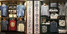 Disney Springs Marketplace Co-Op Adds Disney Cruise Line Dry Dock Merchandise Shop Downtown Disney, Disney Springs, Disney Cruise Line, Disney Ideas, Shopping, Cruises, Places, Fashion, Moda