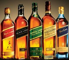 Johnnie Walker. The Many Labels