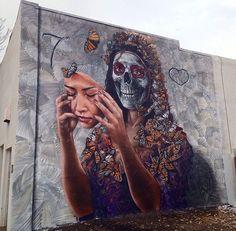 Artist: Gamma Gallery  Location: Denver Colorado  Photo: check out @gammagallery for more amazing murals!  ℹ More info at StreetArtRat.com  #travel #streetart #street #streetphotography #tflers #sprayart #urban #urbanart #urbanwalls #wall #wallporn #graffitiigers #stencilart #art #graffiti #instagraffiti #instagood #artwork #mural #graffitiporn #photooftheday #streetartistry #pasteup #instagraff #instagrafite #streetarteverywhere #denver