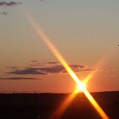 Love the sunsets in Birdsville  #birdsvilleraces2015 #birdsville #sunset #birdsvilleraces by reneeqld