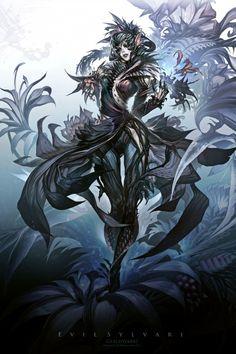Guild Wars 2_Evil Sylvari by Thefirstcolor