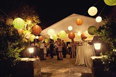 weddig reception at a winery | tented wedding reception wedding invitations with pockets black and ...