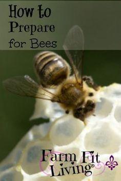 Beekeeping Prep: How to Prepare for Bees #beekeeperequipment #beekeepingideas