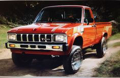 Toyota SR5 4x4 picture from original 1983 sales brochure.