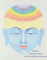 Crown chakra from Santana Society