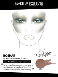 MAKE UP FOR EVER 30 Years. 30 Colors. 30 Artists. Roshar's favorite shade M-636.