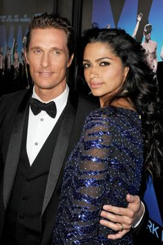 In 2012: Matthew McConaughey made an honest woman out of Camila Alves