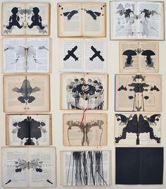 Ekaterina Panikanova's Painting On Books//