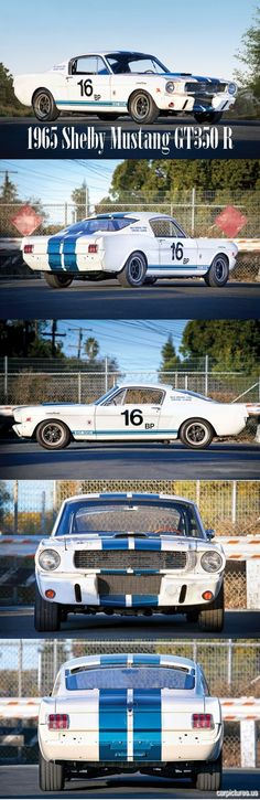 1965 Shelby Mustang GT350 R