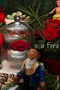 decoração de festa a bela e a fera-1 como receber em casa decoração mesas
