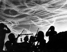 96 best warbirds images on pinterest world war two wwii and airplanes the crew of an m16 mgmc observe the contrails of an air battle over bastogne fandeluxe Image collections