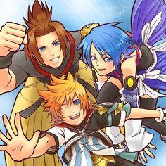 Kingdom Hearts Birth By Sleep Terra Kingdom Hearts, Kingdom Hearts Fanart, Heart Pictures, Beautiful Pictures, Kh Birth By Sleep, Cry Anime, Anime Art, Chain Of Memories, Kindom Hearts