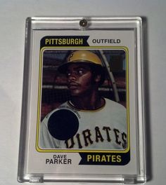 (2001) Topps 50 Years Reprints DAVE PARKER GU JERSEY #1462111