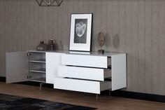 dressoir woonkamer, dressoir design, dressoir modern, dressoir wit | SONOROUS.NL Dresser, Cabinet, Storage, Design, Furniture, Home Decor, Lounge Chairs, Modern, Clothes Stand