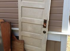 How to Make a Headboard From an Old 5-Panel Door
