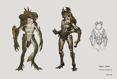 Jaemin Kim Concept Art and Illustrations