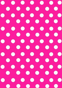 White polka dots on hot pink paper, and other Mickey Mouse wallpapers Cute Wallpaper For Phone, Glitter Wallpaper, Wallpaper Iphone Disney, Cellphone Wallpaper, Pink Wallpaper, Colorful Wallpaper, Wallpaper Backgrounds, Binder Cover Templates, Printable Scrapbook Paper