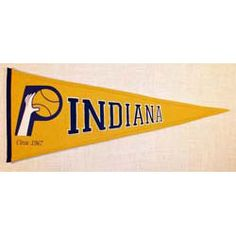 Indiana Pacers Traditions Pennant