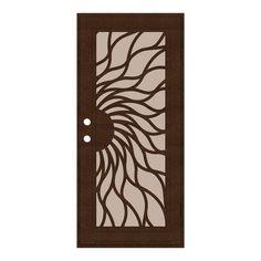 Aluminum Screen, Metal Screen, Metal Gates, Screen Doors, Iron Gates, Gate Design, Door Design, Security Screen, Security Doors