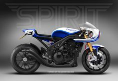 Cafè Racer Concepts - Triumph Speed Triple 1050 2008 Cafè Racer by Spirit of the Seventies