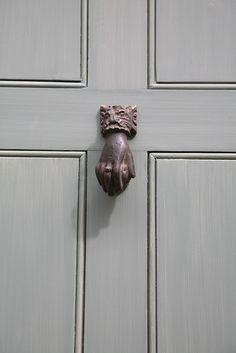 Knock knock. Restored door with Georgian knocker.
