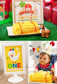Fun Farm First Birthday Ideas | Corner Stork Baby Gifts Blog | Farm First Birthday Hostess With The Mostess