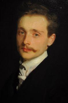 John Singer Sargent, Léon Delafosse (detail), 1895-98
