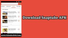 Whatever you had wished to have in the YouTube video downloader, the snaptube apk has it all. Access the application after the snaptube download is done from here.