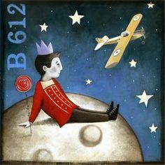 daria petrilli Daria Petrilli, Perez Garcia, Anime Moon, Bird Wings, Illustration, Moon Art, Art Studies, Stars And Moon, Unique Art