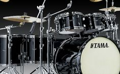 TAMA Drums - Mine was a 10-piece double-bass setup with three additional cymbals (including a china splash)... but who's counting?