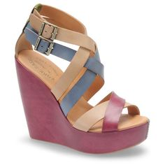 Shop Women's Kork-Ease Wedges on Lyst. Track over 285 Kork-Ease Wedges for stock and sale updates. Shoes Heels Wedges, Wedge Shoes, Pumps, Sandal Wedges, High Shoes, Leather Wedge Sandals, Leather Wedges, Cute Shoes, Me Too Shoes