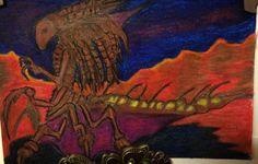 Zerg Queen - crayon