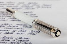 Montblanc Patron of Art - Gaius Maecenas Writing Papers, Fountain Pen Ink, Lost Art, Penmanship, Writing Instruments, Tech Gadgets, Handwriting, Notebook, Elegant
