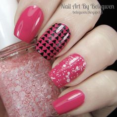 Essence Ultimate Pink and Essie Pinking About You