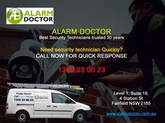Alarm Doctor provide home security alarm repair & Installation service in Sydney #alarmrepair #securityalarm #alarmsystem #sydney