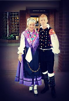 Slovenian National costume - Gorenjska