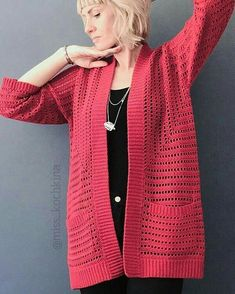 Fabulous and Stylish Crochet Cardigan Patterns Ideas Part crochet cardigan pattern; crochet cardigan plus size; crochet cardigan with hood; Crochet Woman, Crochet Lace, Easy Crochet, Crochet Cardigan Pattern, Cotton Cardigan, Kimono Cardigan, Crochet Patterns For Beginners, Crochet Clothes, My Outfit