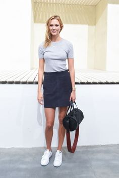 KARLIE KLOSS at Frame Denim Fashion Show in New York 09/12/2015