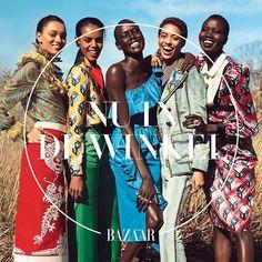 En hier is-ie dan!! De nieuwe Bazaar met maar liefst vijf donkere modellen op de cover omdat wij uiteraard de discussie over diversiteit in de modebladen zeer serieus nemen #bazaarsnieuwe #diversiteit #nuindewinkel #trots   via HARPER'S BAZAAR HOLLAND MAGAZINE OFFICIAL INSTAGRAM - Fashion Campaigns  Haute Couture  Advertising  Editorial Photography  Magazine Cover Designs  Supermodels  Runway Models